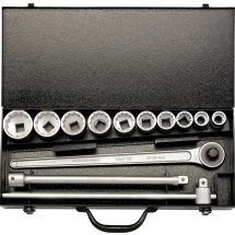 3/4inch SQUARE DRIVE METRIC SOCKET SET (13 PIECE) - ELORA