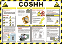 COSHH POSTER 590 X 420 (A2)