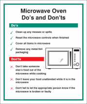 MICROWAVE - DO'S & DONT'S