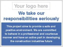 WE TAKE OUR RESPONSIBILITIES SERIOUSLY-SAFE & POSITIVE ENV