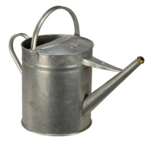 2 GAL GALV. WATERING CAN 9.09 LTR, BRUSHWARE