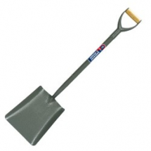 STEEL HANDLE SQUARE MTH SHOVEL SPEAR & JACKSON