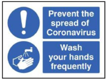 PREVENT THE SPREAD OF CORONA WASH YOUR HANDS FREQUENTLY