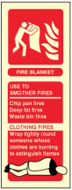 FIRE BLANKET IDENTIFICATION