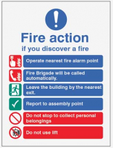 FIRE ACTION AUTO DIAL WITH LIFT