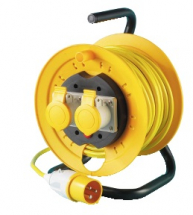 EXTENTION CABLE REEL 25MT 110V 16 AMP