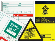 GOOD TO GO SAFETY FIXED SCAFFOLD CHECK BOOK