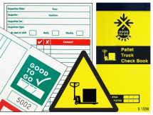 GOOD TO GO PALLET TRUCK SAFETY CHECK BOOK