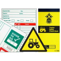 GOOD TO GO SAFETY TRACTOR CHECK BOOK - 25 INSPECTIONS