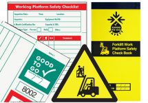 GOOD TO GO SAFETY MAN BASKET CHECK BOOK - 25 INSPECTIONS