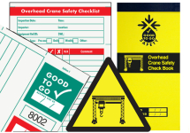 GOOD TO GO SAFETY OVERHEAD CRANE CHECK BOOK - 25 INSPEC