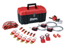 STANDARD LOCKOUT KIT, C/W ELECTRICAL&MECHANICAL DEVICES