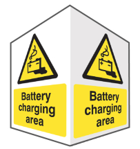 BATTERY CHARGING - EASYFIX PROJECTING SIGNS