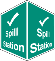 SPILL STATION -PROJECTING SIGM
