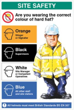 ARE YOU WEARING THE CORRECT COLOUR HELM 600X900MM 5MM PVC