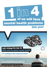 MENTAL HEALTH POSTER 420X594MM SYNTHETIC PAPER