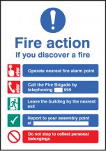 FIRE ACTION - A5 SAV