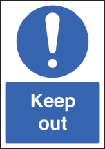 KEEP OUT - A4 RP