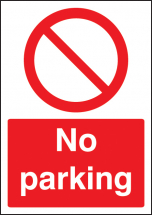 NO PARKING - A4 SAV