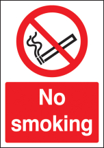 NO SMOKING - A4 SAV