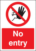 NO ENTRY - A4 SAV