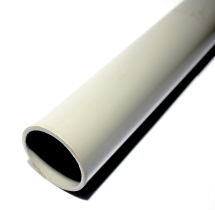 POLE STEEL-GREY 3.0 MTR X 50MM