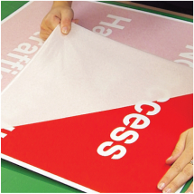 CUSTOM MADE 300X100MM STICKER