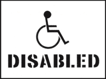 STENCIL KIT 400X300MM-DISABLED