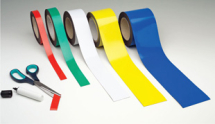 MAGNETIC EASY-WIPE STRIP 70MMX10M WHITE