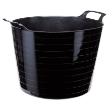 RUBBLE/MIXING BUCKET BLACK FLEXI 40L