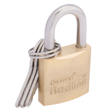 BRASS PADLOCK-25MM DRAPER
