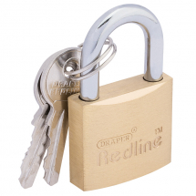 BRASS PADLOCK-30MM DRAPER