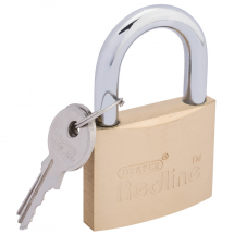 BRASS PADLOCK-50MM DRAPER