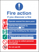 FIRE ACTION EEC (MANUAL 999)