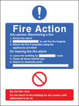 GENERAL FIRE ACTION NO LIFT
