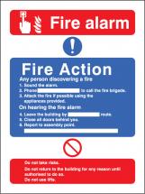 FIRE ACTION/CALL POINT WITH LIFT