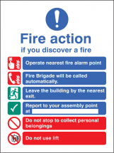 FIRE ACTION BRIGADE DIALLED AUTOMATICALLY WITH LIFT