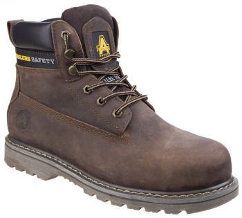 FS164 Goodyear Brown Safety Boot