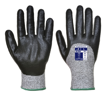 A621 3/4 Dipped Nitrile Foam Glove