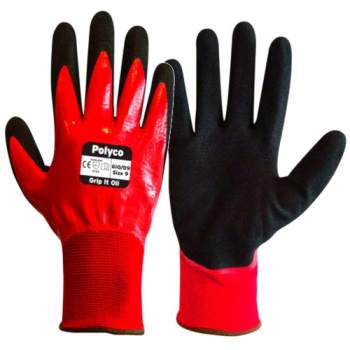 GIO Grip It Oil Nitrile Glove