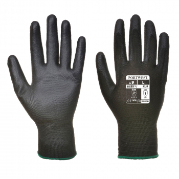 A120 - PU Palm Glove Black