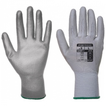 A120 - PU Palm Glove Grey