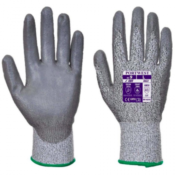 A622 Cut Level A3 PU Palm Glove