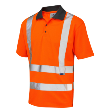 P02 Rockham EcoViz Poloshirt Orange