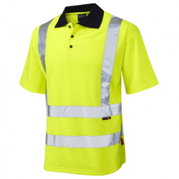 P01 Croyde Short Sleeve Poloshirt Yellow