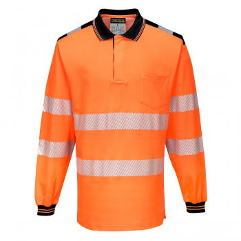 T184 - PW3 Hi-Vis Polo Shirt L/S