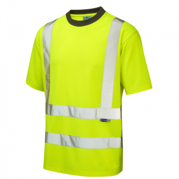 T02 Braunton EcoViz T-Shirt Yellow