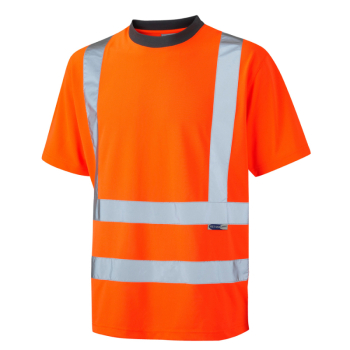 T02 Braunton EcoViz T-Shirt Orange
