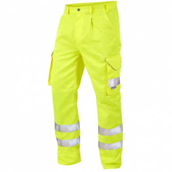CT01 Bideford Poly/Cotton Cargo Trouser Yellow