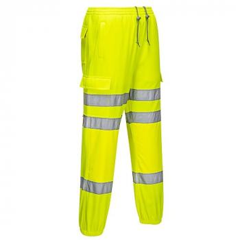 RT48 Hi-Viz Jogging Bottoms Yellow